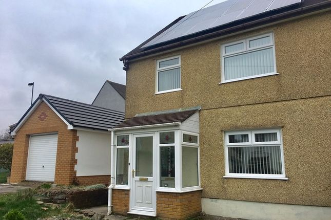 Thumbnail Semi-detached house for sale in Bevan Crescent, Ebbw Vale