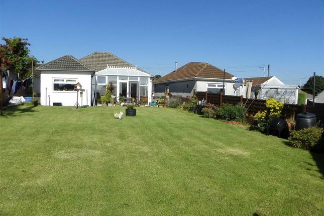 Thumbnail Detached bungalow for sale in Caemawr Road, Morriston, Swansea
