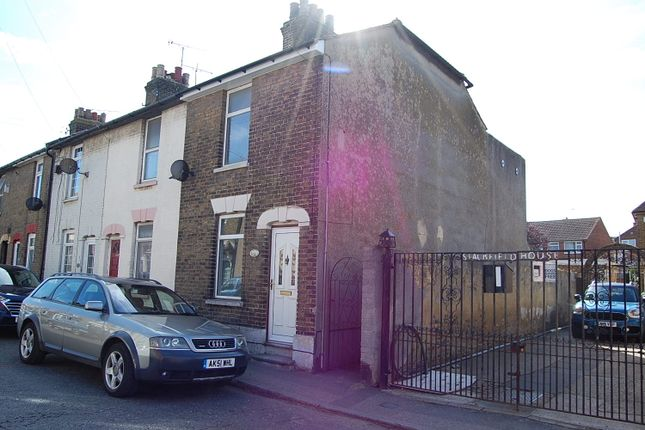 Thumbnail End terrace house to rent in High Street, Milton Regis, Sittingbourne, Kent