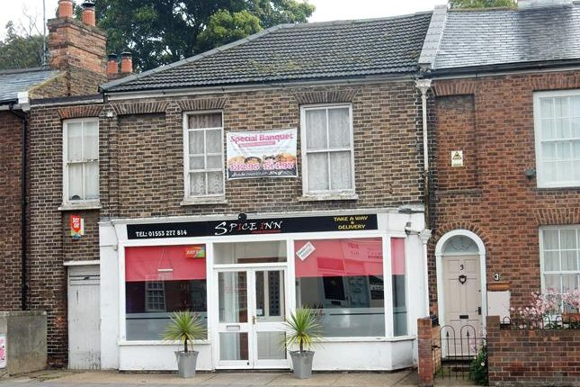 Thumbnail Commercial property for sale in 2 London Road, King's Lynn, Norfolk