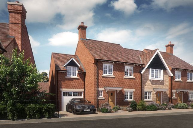 Thumbnail End terrace house for sale in Chearsley Road, Long Crendon, Aylesbury