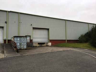 Light industrial to let in Rear Section - High Bay Warehouse, Unit B Parc Eirin, Tonyrefail