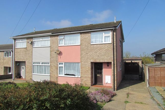 Thumbnail Semi-detached house to rent in Briardale Avenue, Dovercourt, Harwich