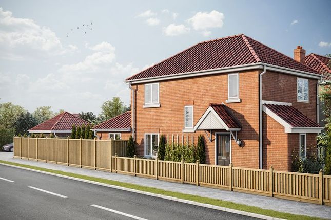 Thumbnail Detached house for sale in Cozens-Hardy Road, Sprowston, Norwich