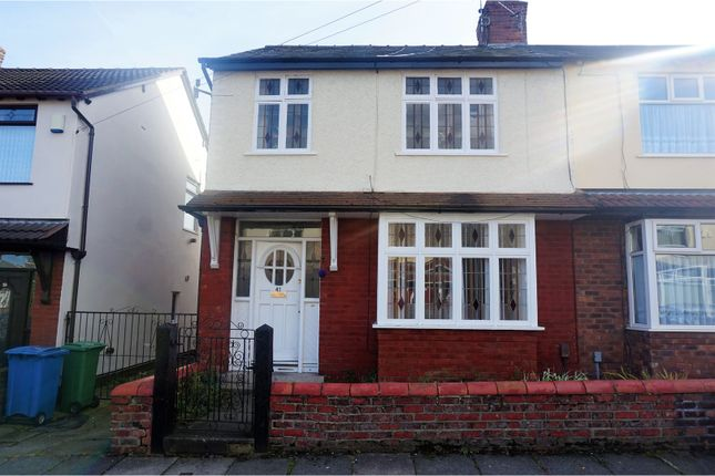 Thumbnail Semi-detached house for sale in Lynwood Gardens, Liverpool