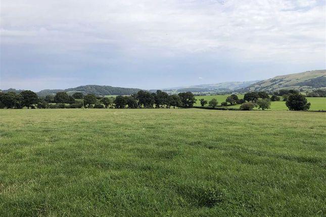 Thumbnail Farm for sale in Land At Ael Y Bryn, Aberhafesp, Newtown, Powys