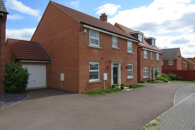 Thumbnail Detached house for sale in Clarendon Close, Corby