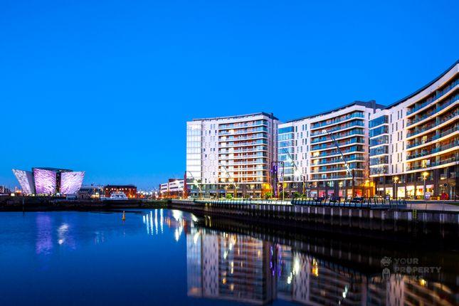 Thumbnail Flat for sale in The Arc, Titanic Quarter, Belfast