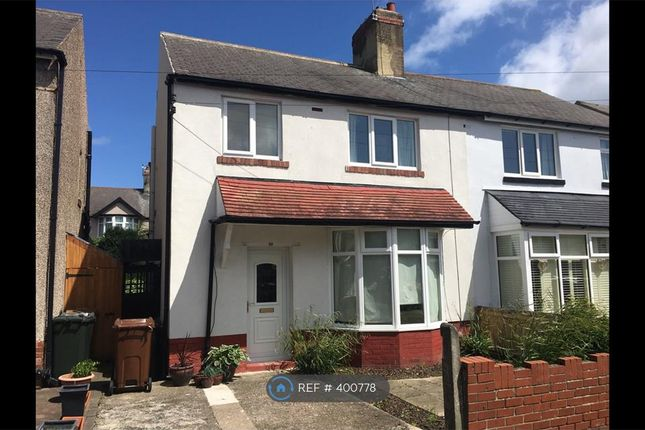 Thumbnail Semi-detached house to rent in Uplands, Whitley Bay