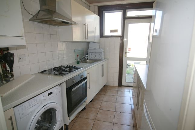 Thumbnail End terrace house to rent in Hickling Road, Ilford