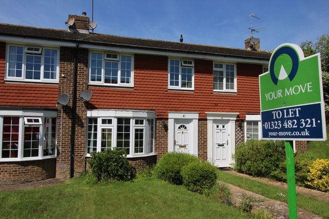 Thumbnail Terraced house to rent in Lynholm Road, Polegate