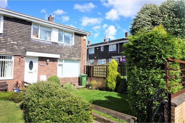 Thumbnail End terrace house for sale in Meldon Way, Winlaton