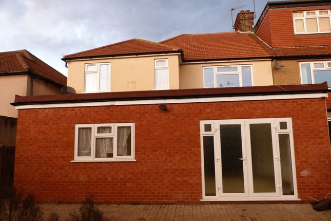 Thumbnail Semi-detached house to rent in Helena Road, London