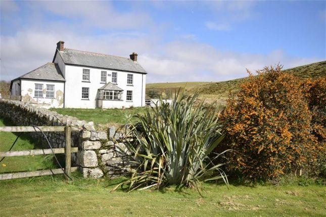 Thumbnail Detached house for sale in Advent, Camelford
