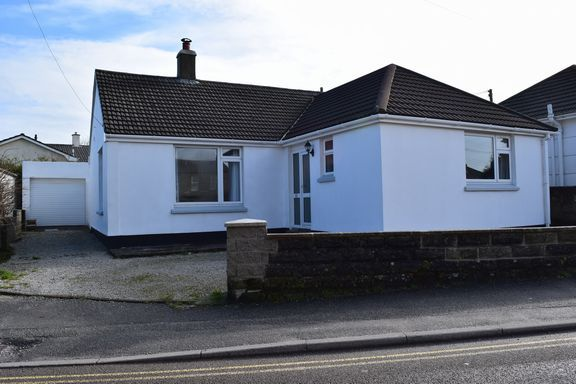 Thumbnail Detached bungalow for sale in Newton Road, Troon, Camborne