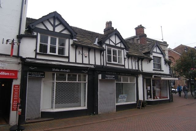 Thumbnail Retail premises for sale in Chestergate Mall, Grosvenor Centre, Macclesfield