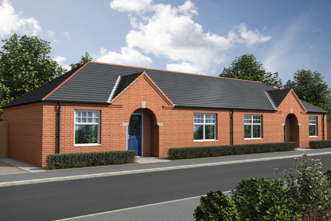 Thumbnail Bungalow for sale in Curtis Drive, Coningsby, Lincolnshire