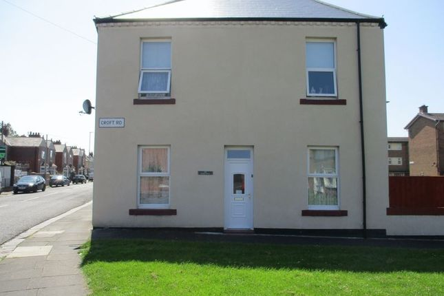 Thumbnail Terraced house to rent in Croft Road, Blyth