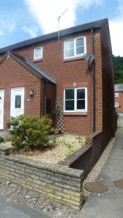 Thumbnail Semi-detached house for sale in Glan Lledan, Brook Street, Welshpool