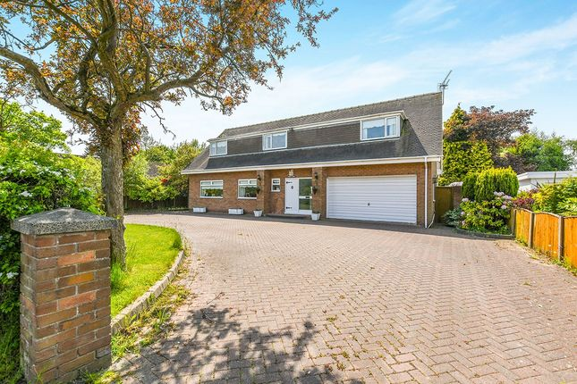 Thumbnail Detached house for sale in Ormskirk Road, Knowsley, Prescot, Merseyside