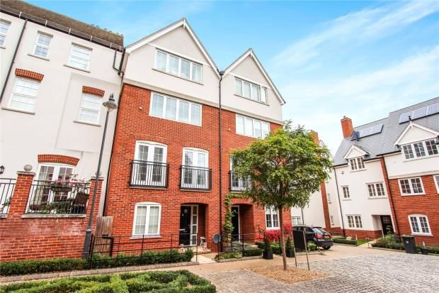 Thumbnail Terraced house for sale in Bell College Court, Saffron Walden, Essex