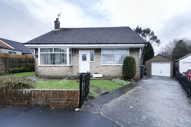 Thumbnail Bungalow for sale in School Crescent, Illingworth, Halifax