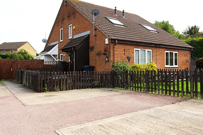 Thumbnail Semi-detached house for sale in Benedictine Gate, Cheshunt, Waltham Cross