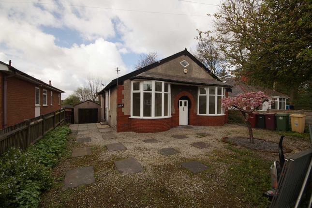 Thumbnail Detached bungalow to rent in Manchester Road, Blackrod, Bolton