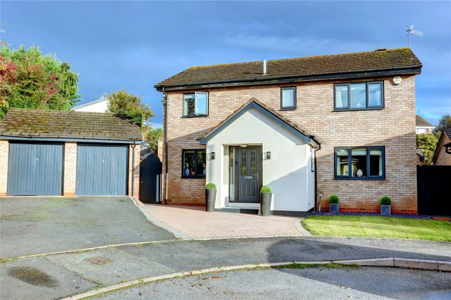 Thumbnail Detached house for sale in Gorse Close, Droitwich, Worcestershire