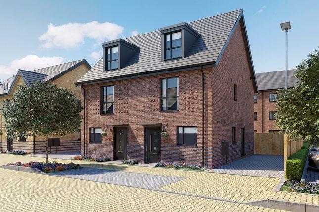 3 bed semi-detached house for sale in Keightley Gate, Glebe Farm, Milton Keynes MK17
