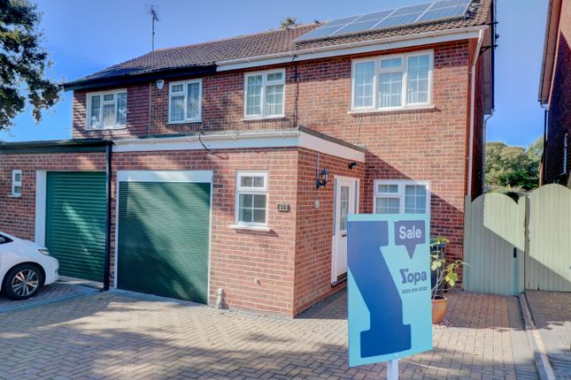 Thumbnail Semi-detached house for sale in Kendal Way, Eastwood, Leigh-On-Sea