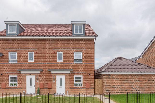 Thumbnail Semi-detached house for sale in Agar Close, Consett, Durham