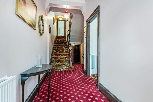 Hallway of Hawkhead Road, Paisley, Renfrewshire, . PA1