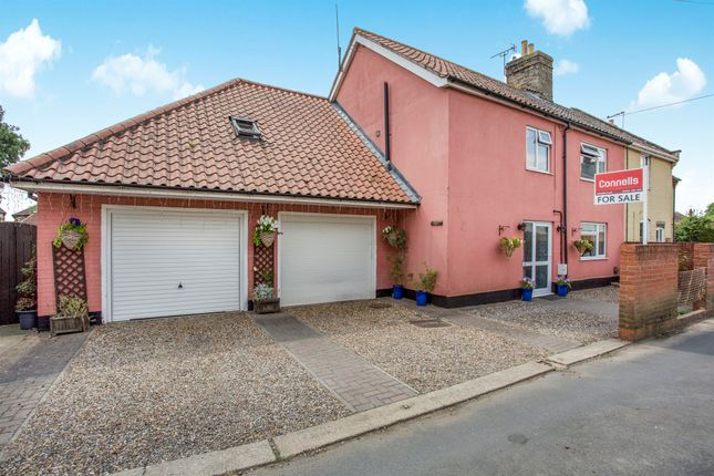 Thumbnail Semi-detached house for sale in Hawk End Lane, Elmswell, Bury St. Edmunds