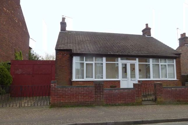 Thumbnail Detached bungalow for sale in Colomb Road, Gorleston, Great Yarmouth