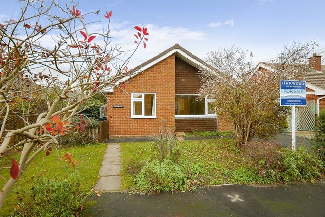 Thumbnail Detached bungalow for sale in Collins Close, Broseley