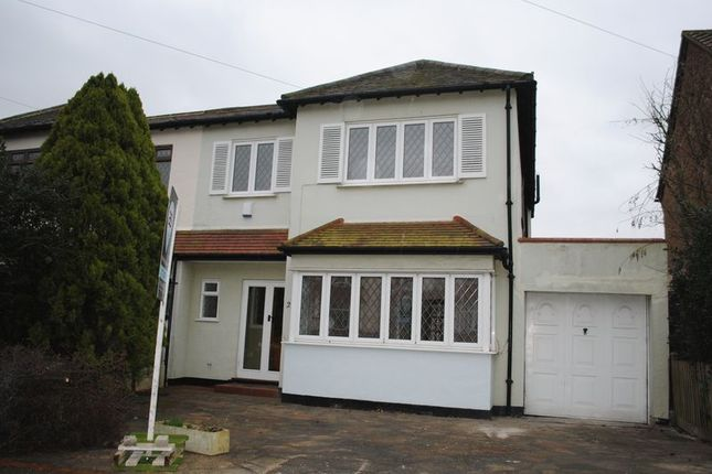 Thumbnail Semi-detached house to rent in Western Road, Leigh-On-Sea
