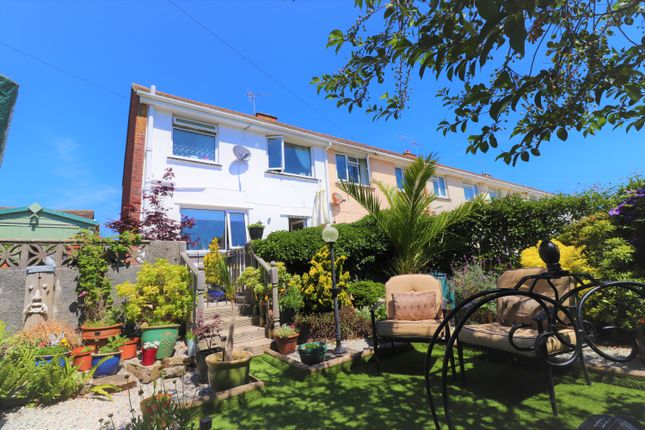 Thumbnail End terrace house for sale in Kingsley Avenue, Torpoint