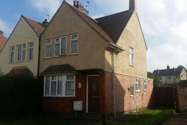 Thumbnail Semi-detached house to rent in Marner Road, Nuneaton
