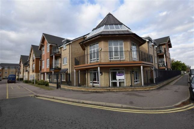 Thumbnail Flat for sale in Poplar House, Rectory Road, Pitsea, Essex