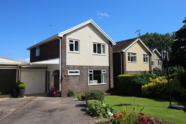 Thumbnail Detached house for sale in Meyricks, Coed Eva, Cwmbran