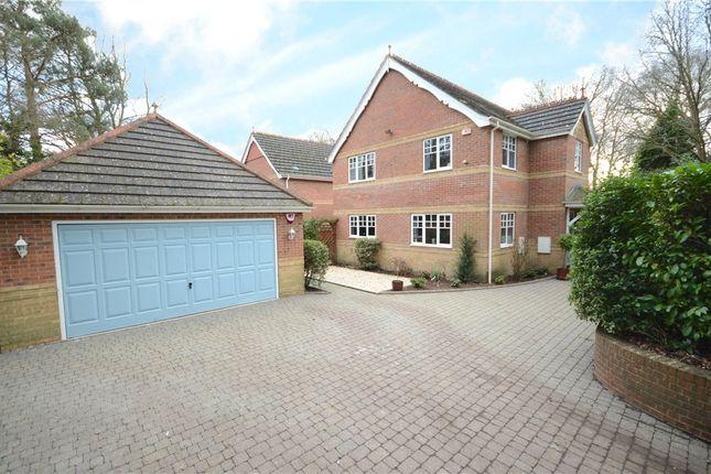 Thumbnail Detached house for sale in Sandy Lane, Sandhurst, Berkshire
