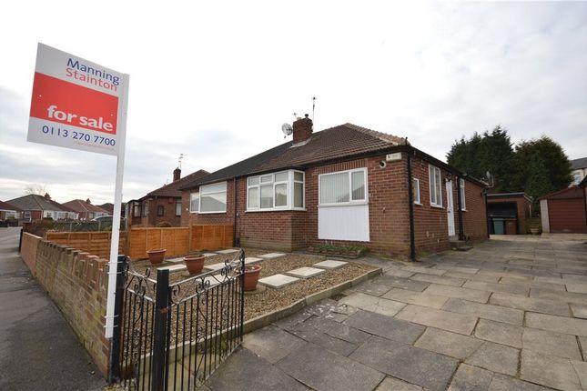 Thumbnail Semi-detached bungalow for sale in Staithe Avenue, Leeds, West Yorkshire