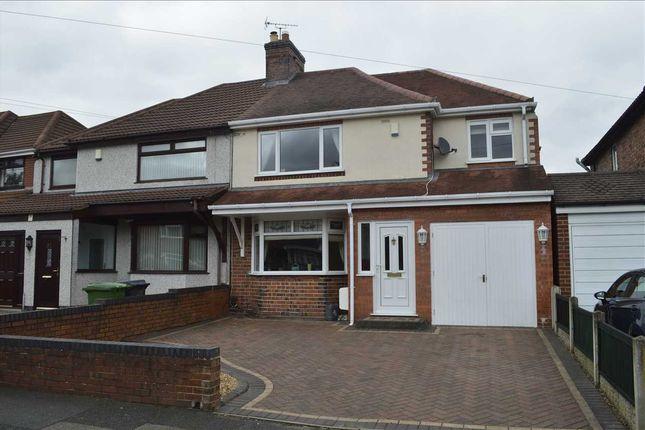 Thumbnail Semi-detached house for sale in Carlton Avenue, Wednesfield, Wednesfield