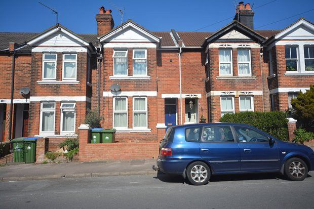 Thumbnail Terraced house to rent in Malmesbury Road, Shirley, Southampton