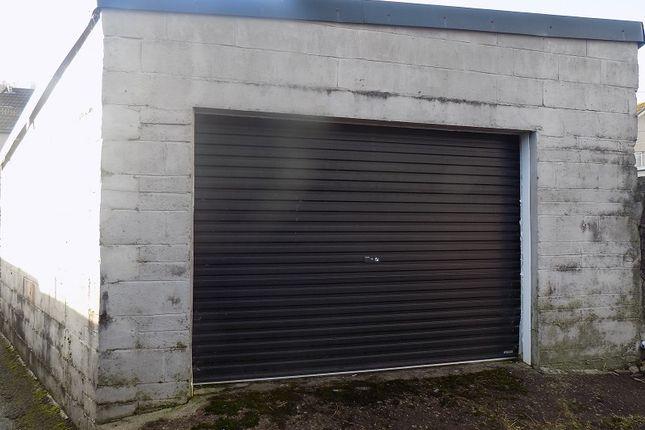 Garage of River Terrace, Treorchy, Rhondda Cynon Taff. CF42