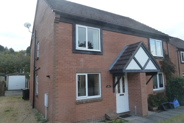 Thumbnail Semi-detached house to rent in 21 Swains Meadow, Church Stretton