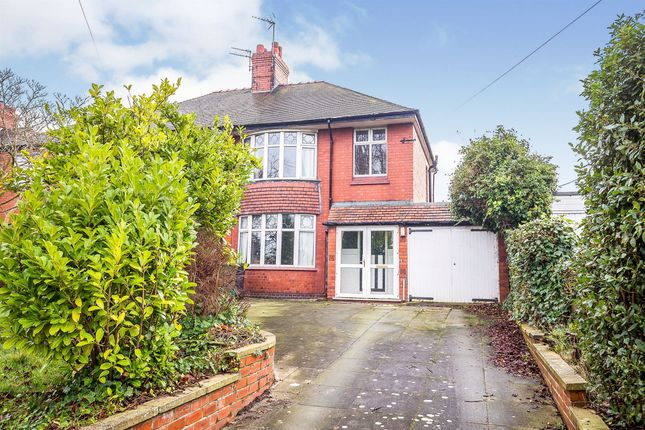 Thumbnail Semi-detached house for sale in Middlewich Road, Winsford