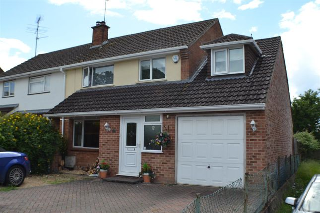 Thumbnail Semi-detached house for sale in Millers Road, Tadley