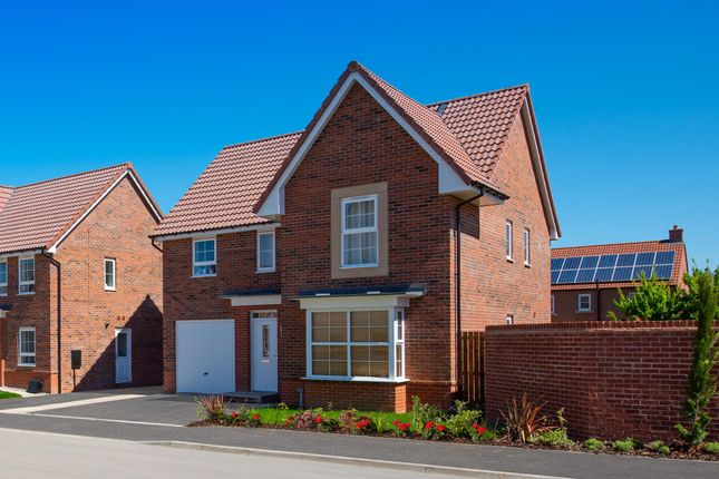 """Thumbnail Detached house for sale in """"Halstead"""" at Ripon Road, Kirby Hill, Boroughbridge, York"""